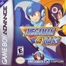 Capa do jogo Mega Man & Bass