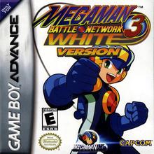 Box art for the game Mega Man Battle Network 3 White Version