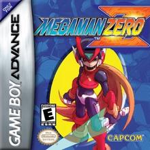 Box art for the game Mega Man Zero