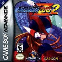 Box art for the game Mega Man Zero 2