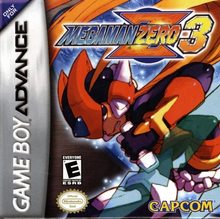 Box art for the game Mega Man Zero 3
