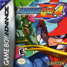 Box art for the game Mega Man Zero 4