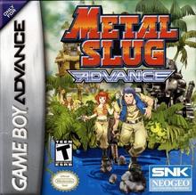 Capa do jogo Metal Slug Advance