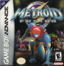 Box art for the game Metroid Fusion