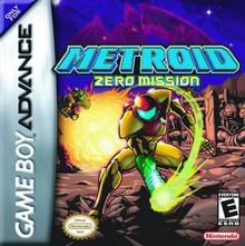 Box art for the game Metroid: Zero Mission
