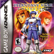 Box art for the game Phantasy Star Collection