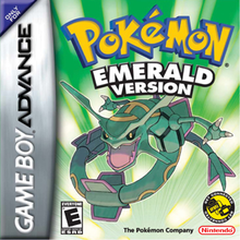 Capa do jogo Pokemon Emerald Version