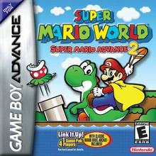 Box art for the game Super Mario Advance 2: Super Mario World