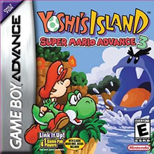 Box art for the game Super Mario Advance 3: Yoshi's Island