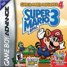 Box art for the game Super Mario Advance 4: Super Mario Bros. 3