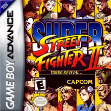 Box art for the game Super Street Fighter II Turbo Revival